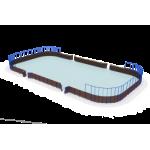 Хоккейная коробка мини                                           24000х12000х4500..