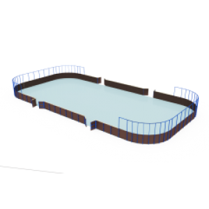 Хоккейная коробка мини                                           24000х12000х4500