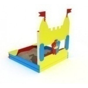 Песочница Королевство                                           1660х1660х1800