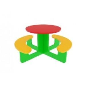 Столик круглый 1350х1350х600