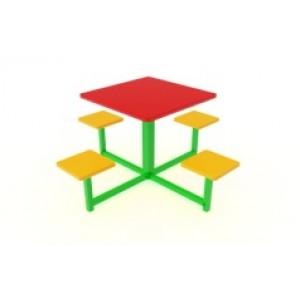 Столик квадратный 1250х1250х600