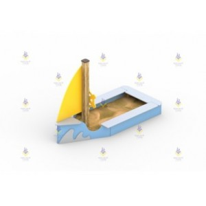Песочница «Лодка»