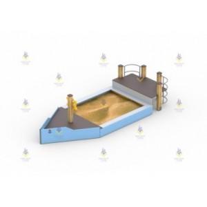 Песочница «Кораблик»