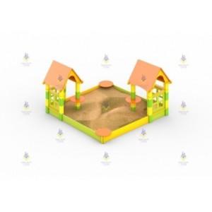 Песочный дворик тип-1