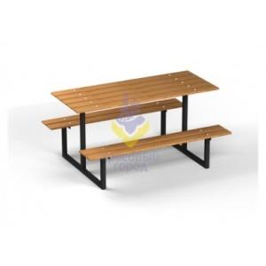 Скамейка парковая металлическая тип-3