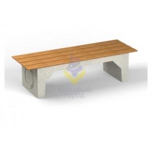 Скамейка бетонная тип-1