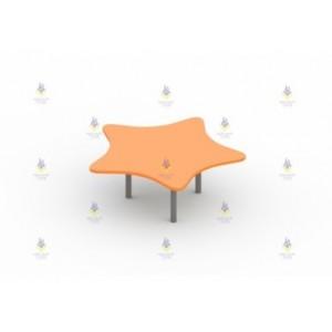 Стол для песочницы звезда