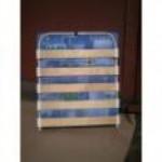 Кровать раскладушка детская с матрасом на ламелях Сложенный: 140*650*725, Разложенный:1450*650*270..