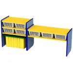 Многофункциональный модуль для развивающей деятельности с набором корзин ..