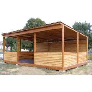Веранда деревянная
