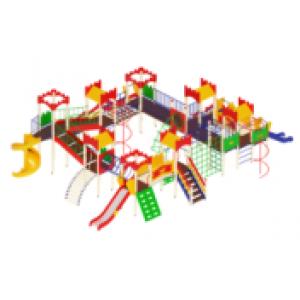 Детский игровой комплекс                  Замок Горка 900, 1200, 2000               12500х10010х4500