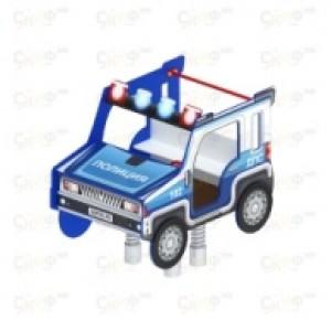 Качалка на пружине Джип ДПС 1500х980х1400