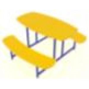 Столик овальный 1340х1180х600