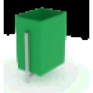 Урна Прямоугольная                                           370х250х650