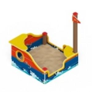 Песочница Кораблик                                           1300х1360х1500