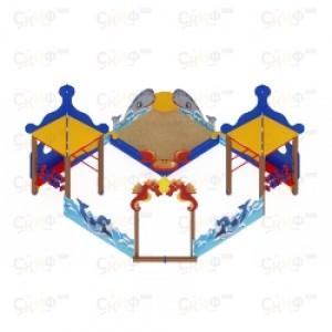 Песочный дворик морской                                         4060х4030х2720