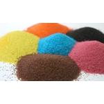 Песок цветной - набор из 8 цветов по 0,5кг..
