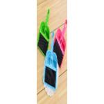 Щеточка с совочком (зеленый, голубой, розовый)..