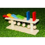 Тактильно-развивающая панель Разноцветное домино-6360х100х125 ..
