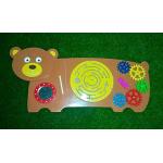 Развивающая панель Медведь..