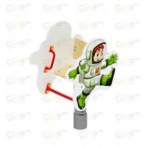 Качалка на пружине Космонавт 680х580х850