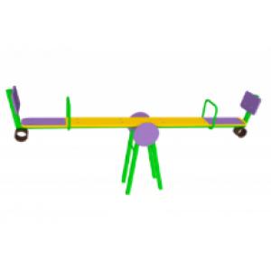 Качалка-балансир со спинкой                                           2670х456х820