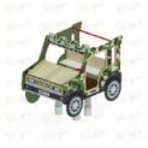 Качалка на пружине Джип Сафари 1500х980х1300