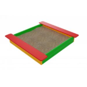 Песочница Забава  (цвета в ассортименте)                                        1860х1830х220