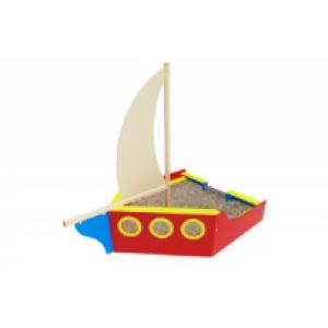 Песочница Яхта                                            3750х2820х3500