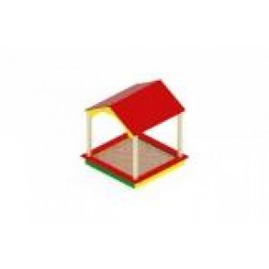 Песочный дворик домик                                           1930х1870х2000