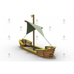 Игровой дворик «Лодка»