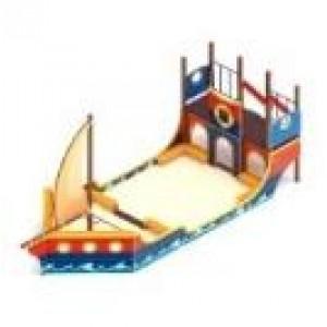 Песочный дворик Яхта 8990х2840х3500