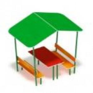 Столик детский с навесом                                           1650*1400*1850