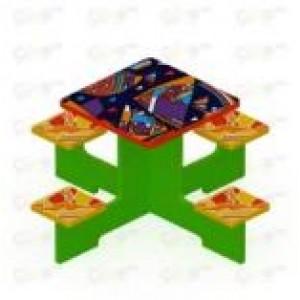 Столик детский 1250х1250х620