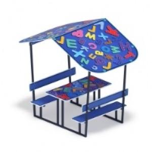 Столик детский с навесом 1400*2180*1850