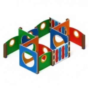 Лабиринт Кубик 3 2860х1950х1000