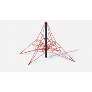 Пирамида (на резиновое покрытие) СК 2.05.01-РК (сетка) 7130*7130*4000