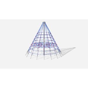Пирамида (на резиновое покрытие) СК 2.05.02-РК (сетка) 4000*4000*3700