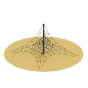 Пирамида СК 2.05.07 (сетка) 8000*8000*4000