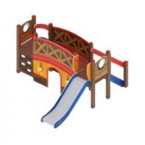 Детский игровой комплекс                          Карапуз Горка 900                                           3060*3320*1750