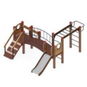 Детский игровой комплекс                           Карапуз Горка 750                                           3060*3950*1550