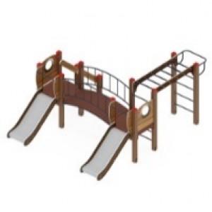 Детский игровой комплекс                           Карапуз Горка 750                                           3060*3950*1500