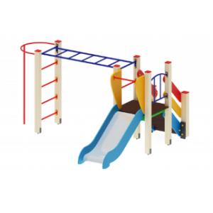 Детский игровой комплекс                           Карапуз Горка 750                                           2880*2730*1500