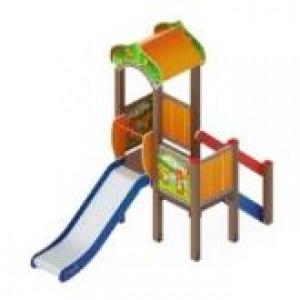 Детский игровой комплекс                           Полянка Горка 900                                           3320*1550*3000