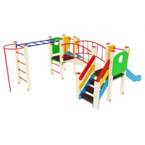 Детский игровой комплекс                           Карапуз Горка 750                                           4120*3100*1500
