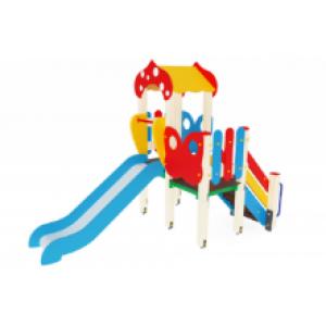 Детский игровой комплекс                           Полянка Горка 900                                           2880*1470*2860
