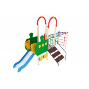 Детский игровой комплекс                           Паровозик Горка 750                                           5850х2100х3000