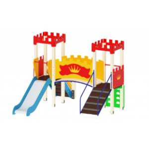 Детский игровой комплекс                          Королевство Горка 900                                           3270*3100*2730