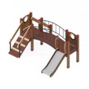 Детский игровой комплекс                           Карапуз Горка 750                                           3060х2710х1500