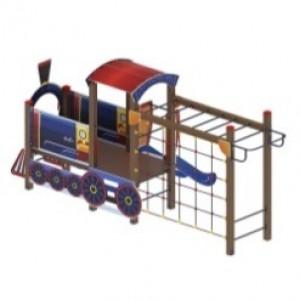 Детский игровой комплекс «Паровозик» 5330*2320*2380
